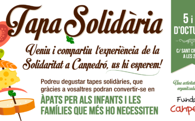 La Tapa solidaria dentro de la Festa Major d'Hostafrancs